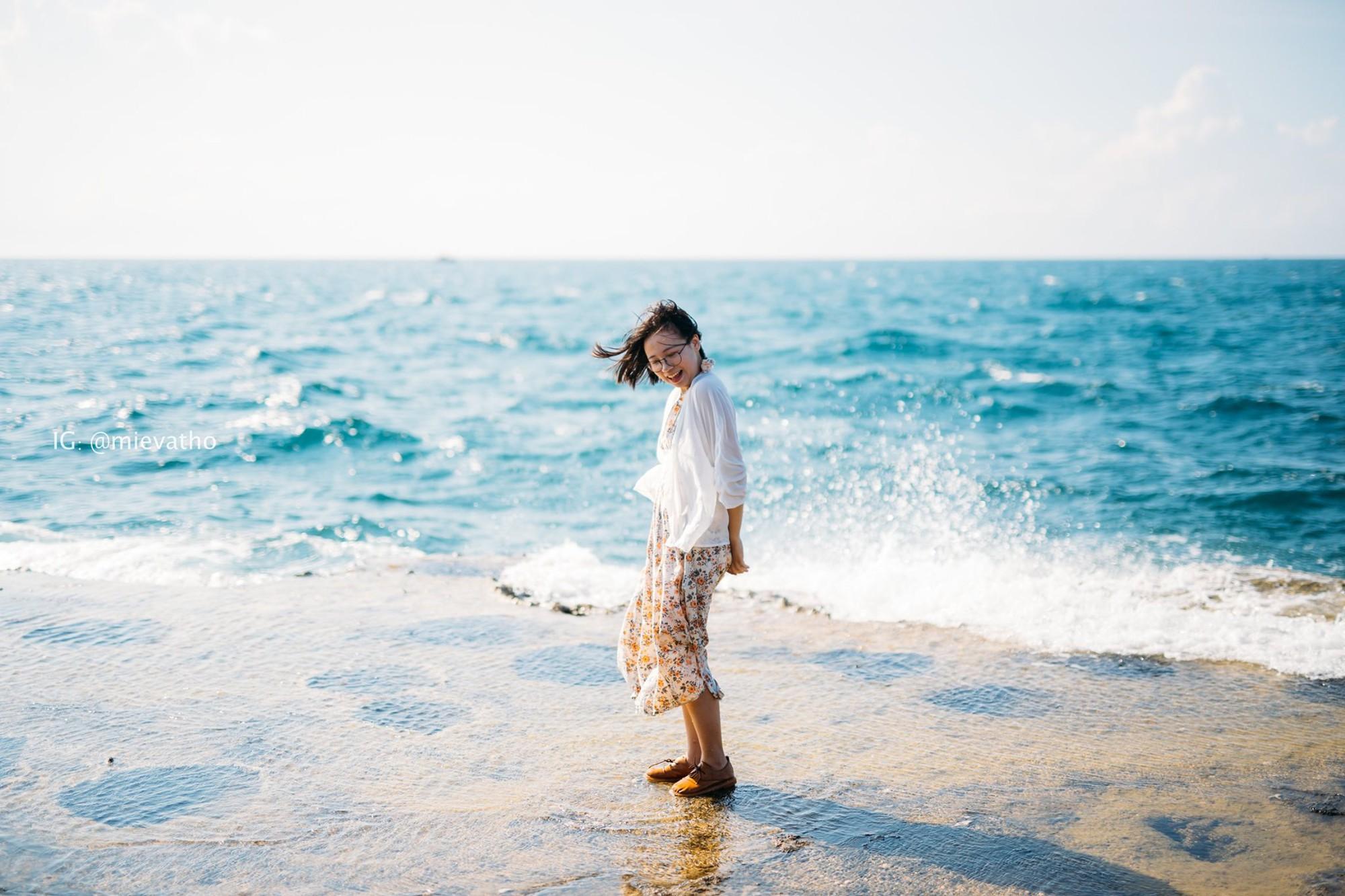 Bộ ảnh du lịch Ninh Thuận của cặp đôi đến từ Hà Nội khiến dân tình thích thú: Mới nhìn thôi đã thấy chill phết! - Ảnh 6.
