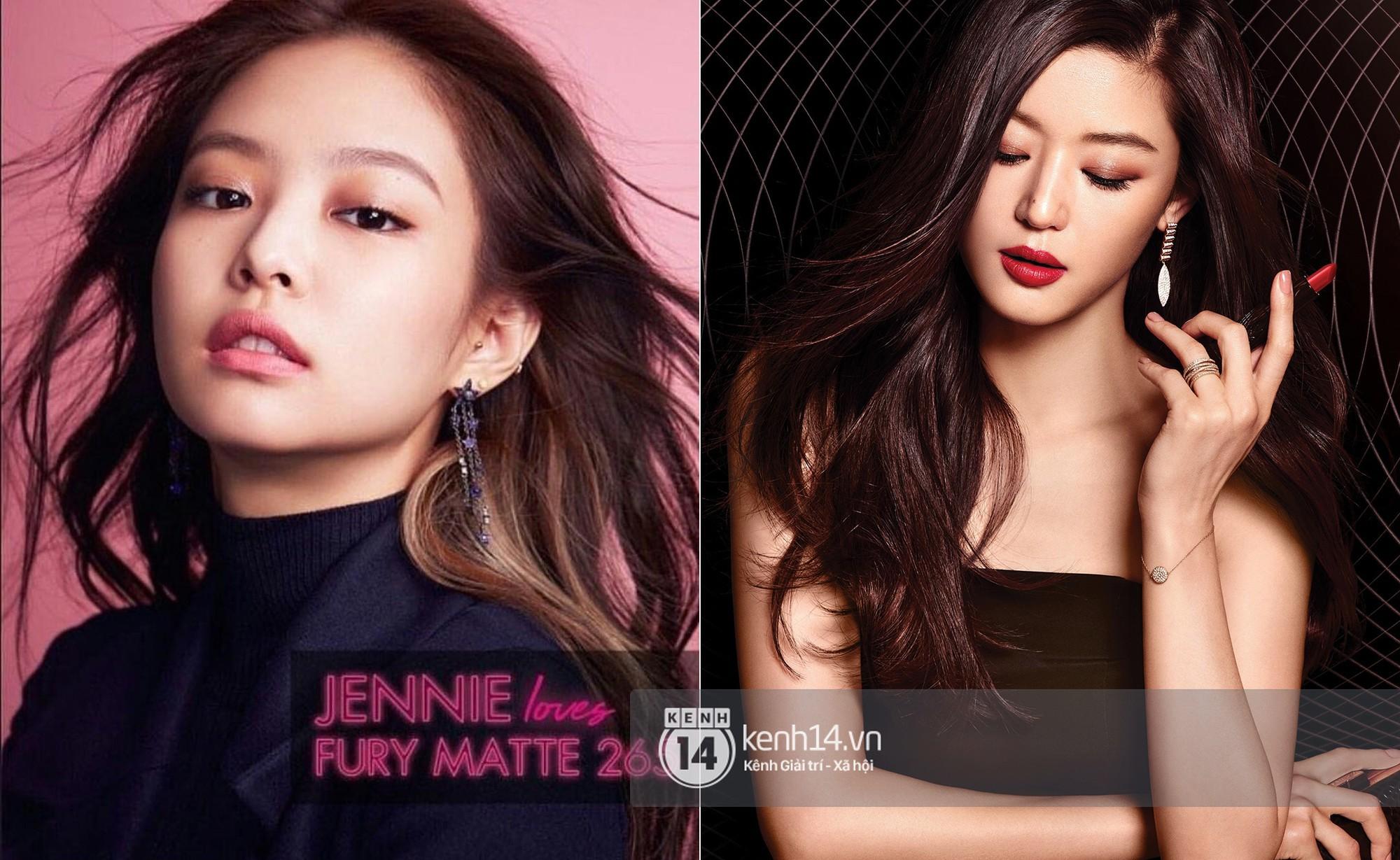 Từng bị chê thua kém Jeon Ji Hyun, nay Jennie đã chứng minh đẳng cấp khi đem lại doanh thu khủng cho hãng mỹ phẩm Hàn - Ảnh 1.