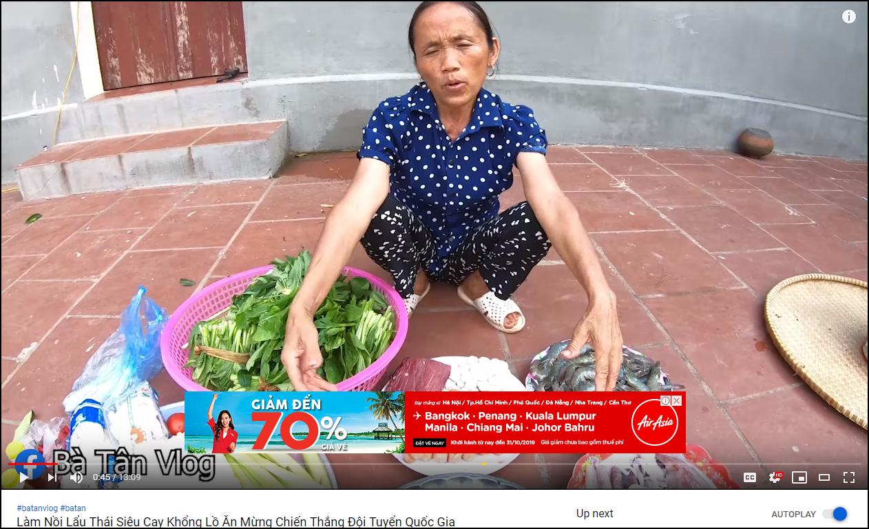 Bà Tân Vlog đã được bật kiếm tiền YouTube, chính thức được chèn quảng cáo trong video - Ảnh 3.