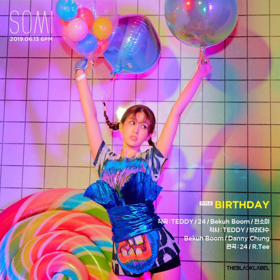 Hé lộ bài chủ đề trong album debut solo của Somi: Danh sách người