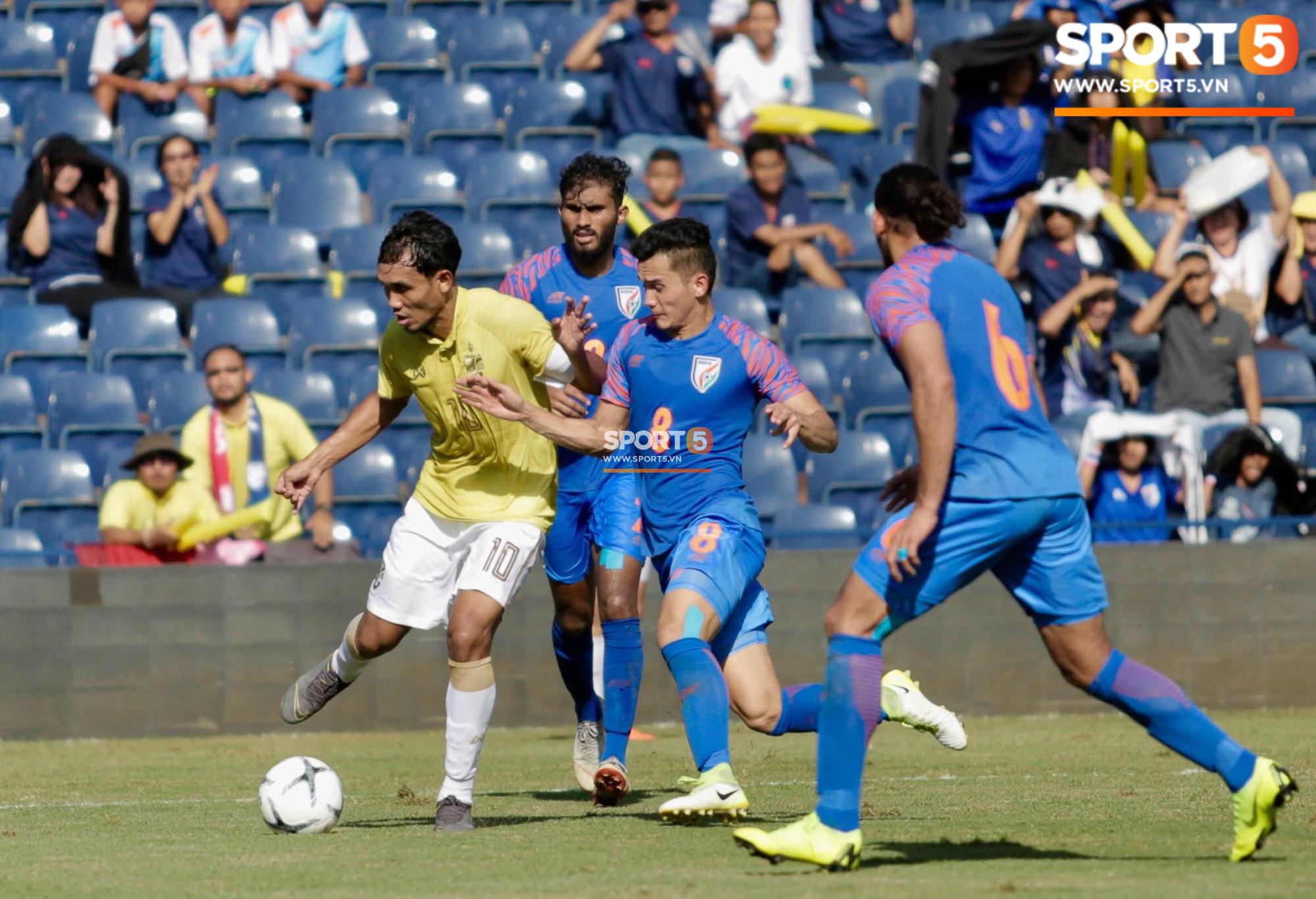 Thua trắng Ấn Độ, Thái Lan xếp chót giải đấu Kings Cup được tổ chức ngay trên sân nhà - Ảnh 1.