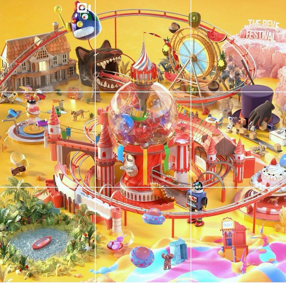 Red Velvet tung thính đầu tiên: Hình ảnh nhìn là thấy hè, tên bài chủ đề xoắn lưỡi được spoil từ trước - Ảnh 1.