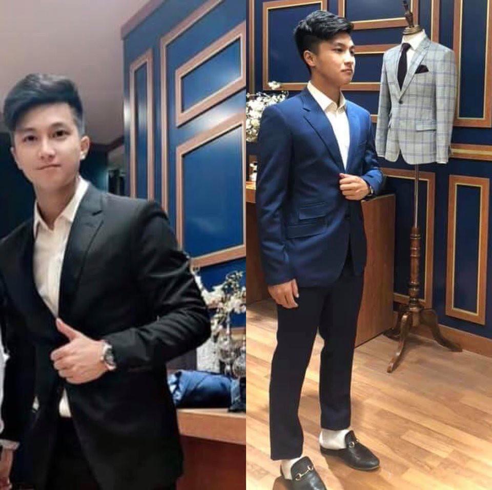 Dàn sao trẻ U23 Việt Nam diện suit lịch lãm khiến chị em đứng tim - Ảnh 1.