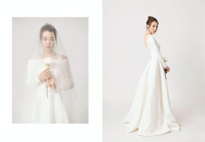 So kè váy cưới của 3 mỹ nhân Vbiz sắp về nhà chồng: Phí Linh nền nã, Phương Mai sexy nhưng bất ngờ nhất là Đàm Thu Trang - Ảnh 9.