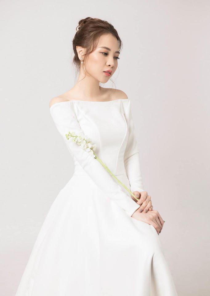 So kè váy cưới của 3 mỹ nhân Vbiz sắp về nhà chồng: Phí Linh nền nã, Phương Mai sexy nhưng bất ngờ nhất là Đàm Thu Trang - Ảnh 10.