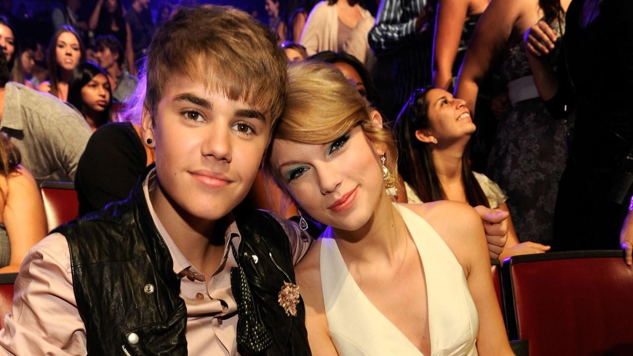 Justin và Taylor trước khi trở thành kẻ thù