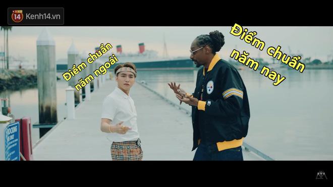 Khoảnh khắc Sơn Tùng bé nhỏ trước Snoop Dogg đang được dân mạng chế ảnh và share điên cuồng - Ảnh 3.
