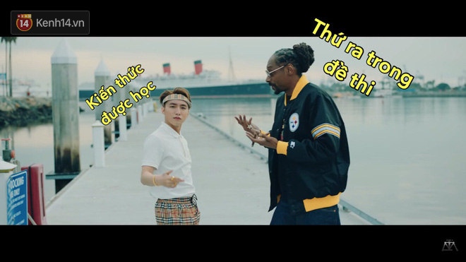 Khoảnh khắc Sơn Tùng bé nhỏ trước Snoop Dogg đang được dân mạng chế ảnh và share điên cuồng - Ảnh 5.