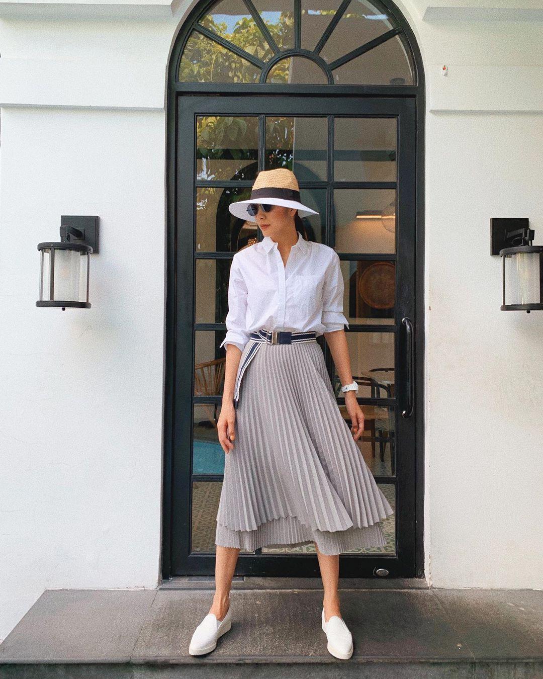 Dân tình nhận ra thêm một tính cách của Hà Tăng chỉ nhờ vào một thiết kế váy - Ảnh 3.