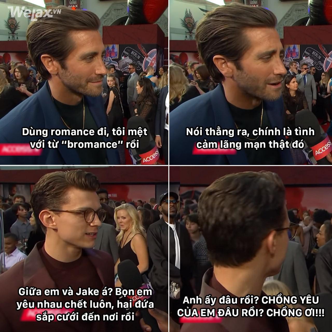 Triệu fangirl hoàn toàn hết cơ hội: Trai đẹp nhện nhỏ Tom Holland đòi nhận Jake Gyllenhaal làm chồng rồi! - Ảnh 1.