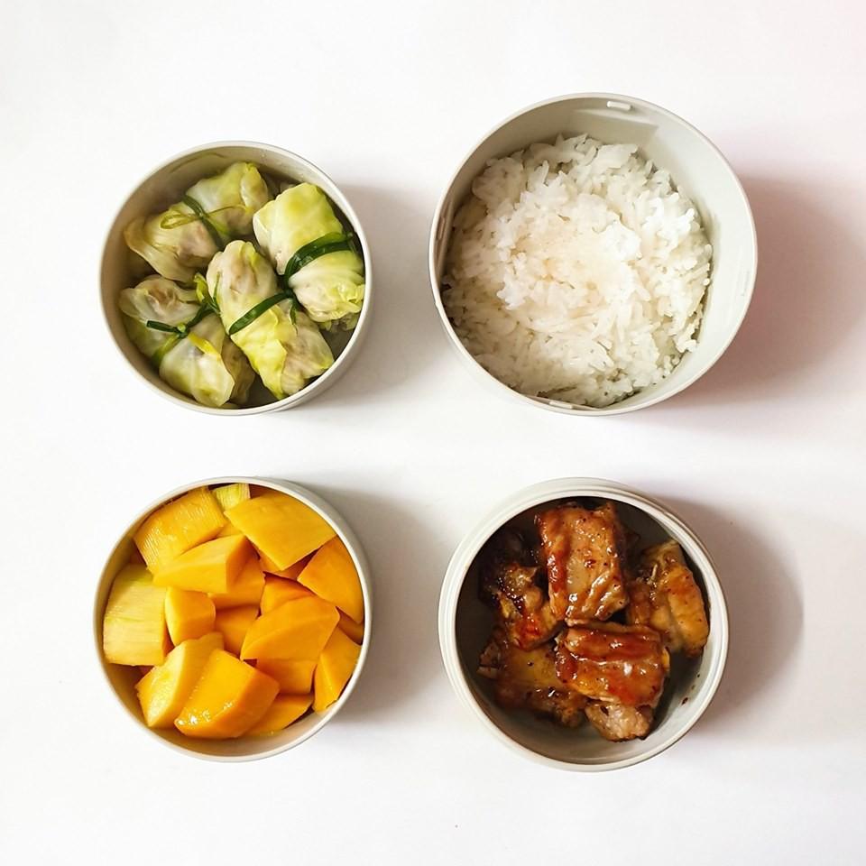 Chỉ với 50k đồng, cô gái trẻ làm ra hàng loạt bữa cơm trưa siêu tinh tế để chồng mang đi làm mỗi ngày - Ảnh 10.