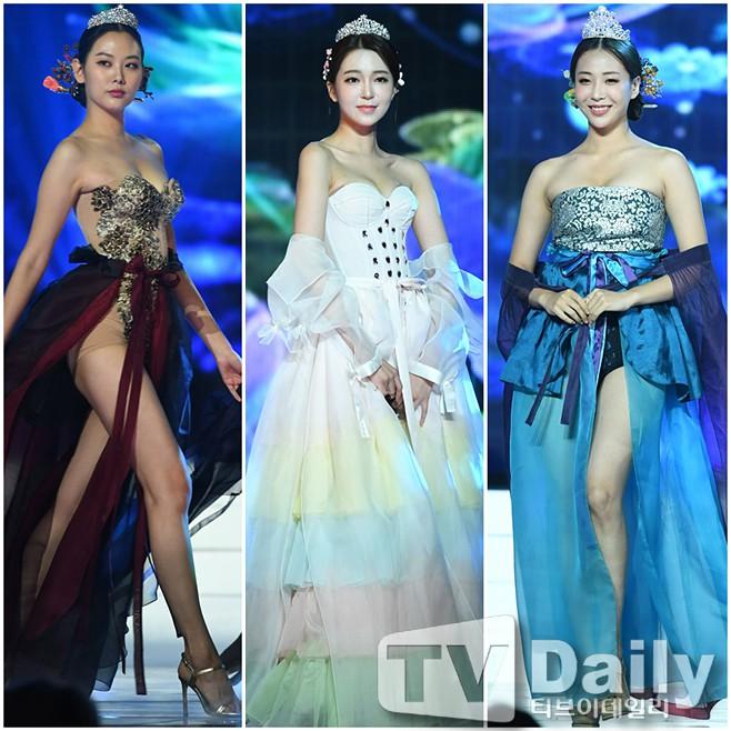 Sexy hóa hanbok tới mức lố lăng, dàn thí sinh Hoa hậu Hàn Quốc 2019 bị netizen ném đá tơi bời - Ảnh 1.