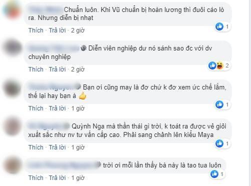 Trở lại màn ảnh hậu ly hôn, Quỳnh Nga liên tục bị netizen chê diễn đơ, thiếu cảm xúc trong Về nhà đi con - Ảnh 3.