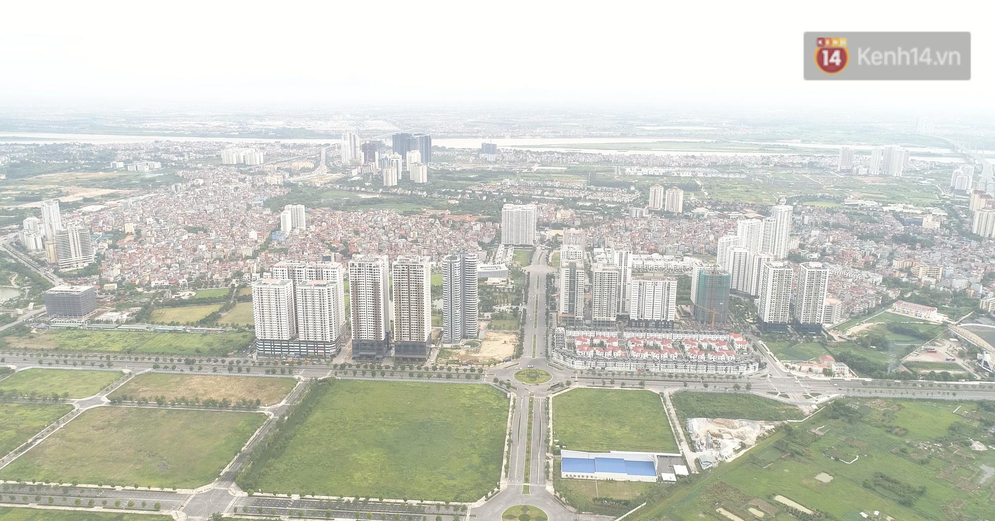 Clip, ảnh: Toàn cảnh tuyến đường mới với 8 làn xe, mạch xương sống nối liền 3 quận ở Hà Nội - Ảnh 3.