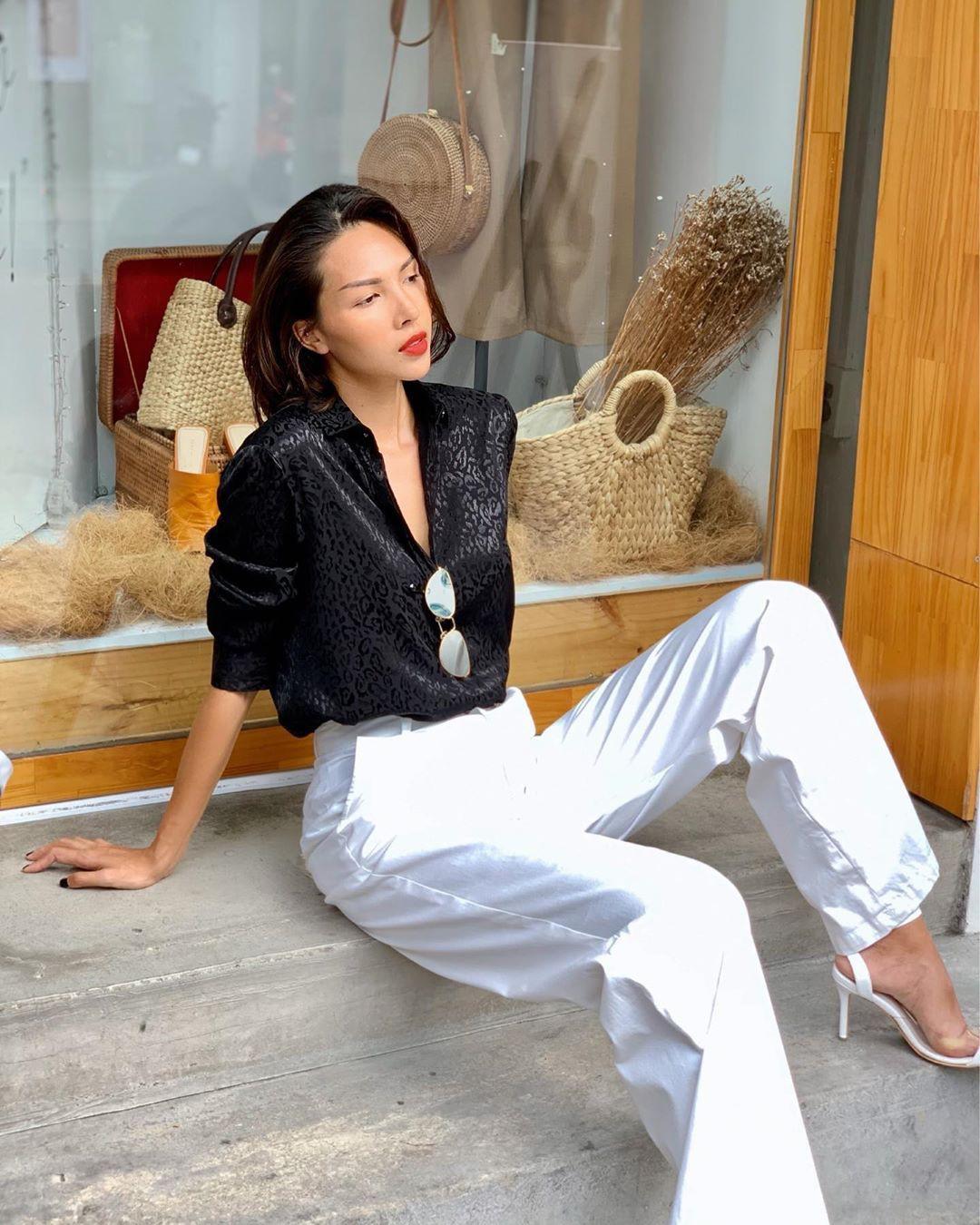 Làm chủ công thức đen - trắng với 13 ý tưởng từ sao nữ Việt và style của bạn sẽ lên đời thấy rõ - Ảnh 5.