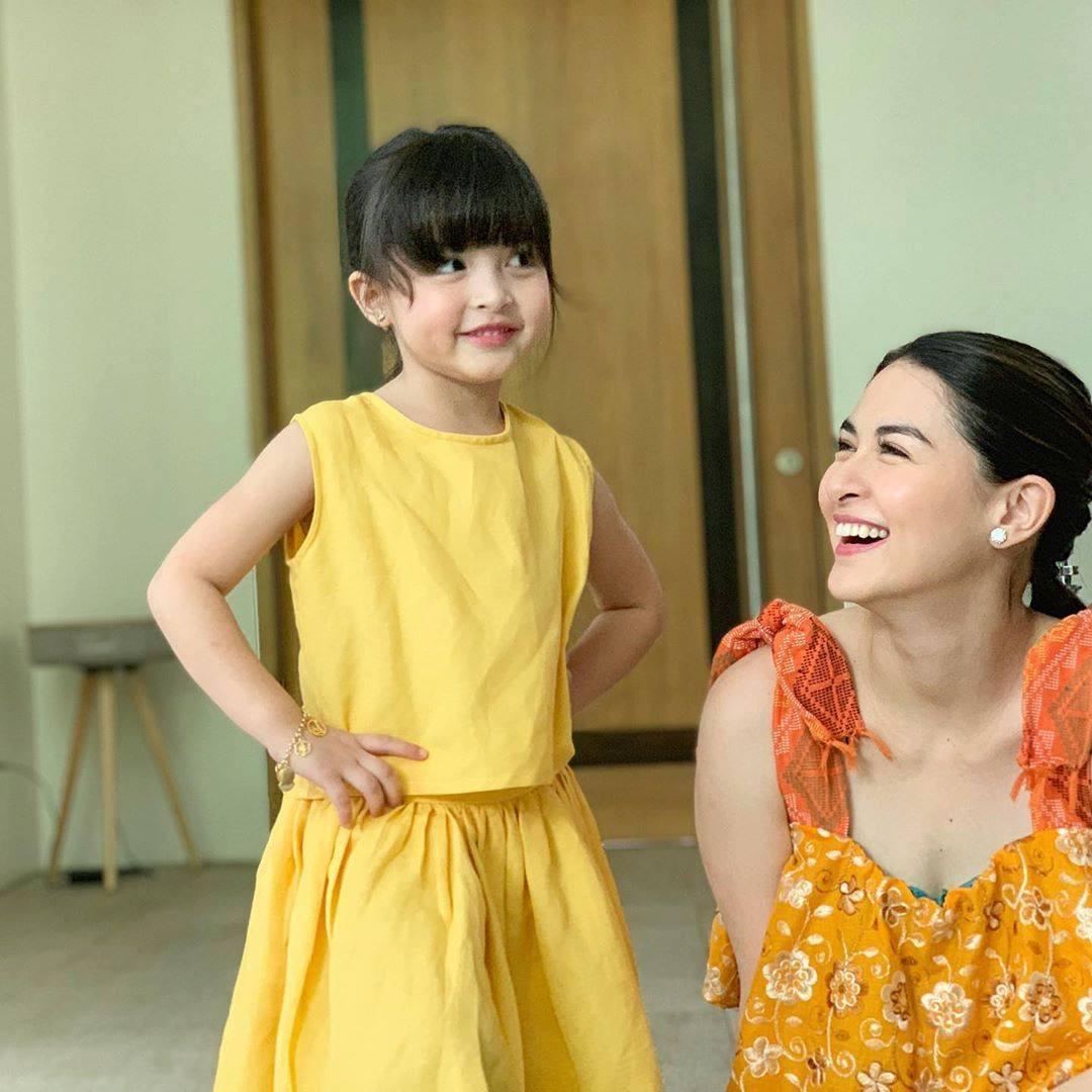 Rụng tim với loạt ảnh đôi của mẹ con mỹ nhân đẹp nhất Philippines: Xinh xuất sắc, giống nhau như bản sao - Ảnh 4.