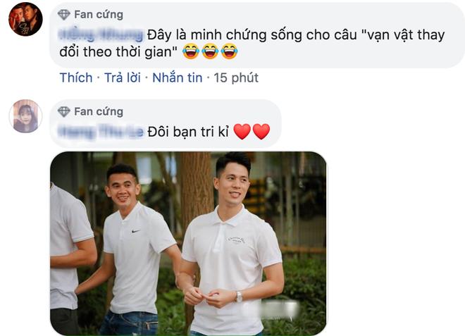 Đình Trọng chống nạng trở về Hà Nội FC, nhưng sự xuất hiện của người bạn thân mới làm người ta chú ý - Ảnh 4.