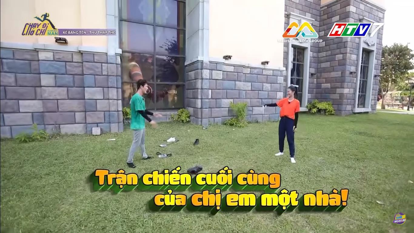 Running Man: Song Luân chấp nhận bại trận trước Đông Nhi vì sợ bị... trừ lương - Ảnh 3.