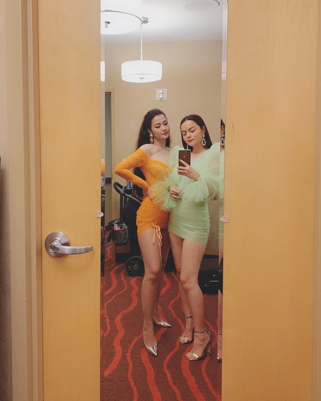 Ai đó kiêng dè váy kén dáng chứ Phạm Quỳnh Anh chẳng ngán diện, đã vậy còn mặc tuyệt đẹp - Ảnh 3.