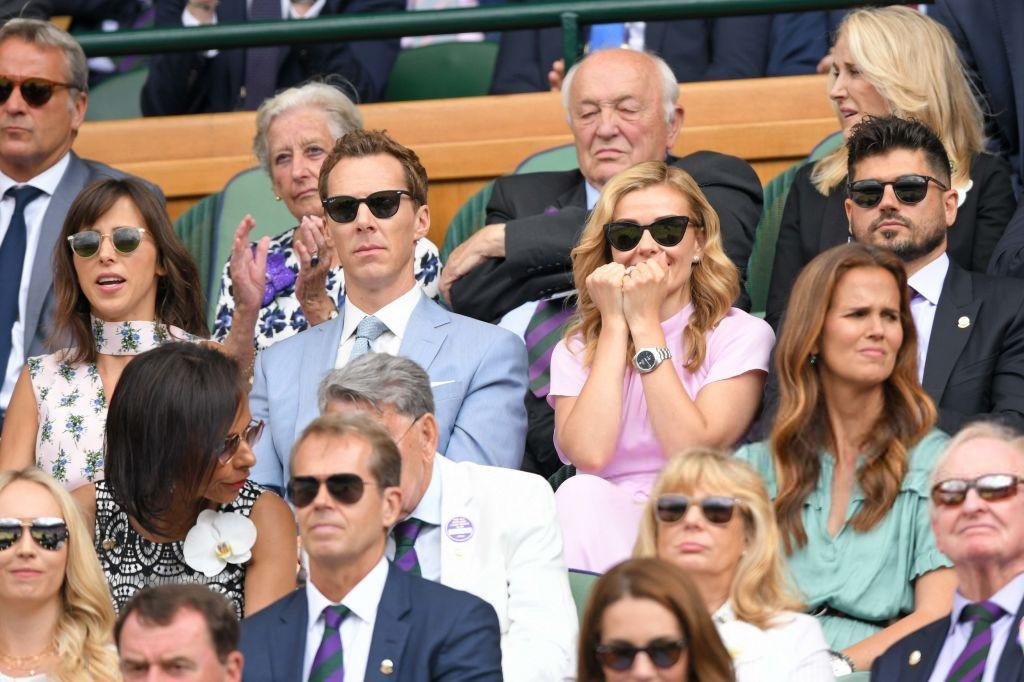 Chung kết Wimbledon: Công nương Kate hết ôm mặt lại chu môi ngạc nhiên tột độ khi chứng kiến trận siêu kinh điển quần vợt, Doctor Strange và Loki ăn mặc lịch lãm như đi thử vai Mật vụ Kingsman - Ảnh 6.