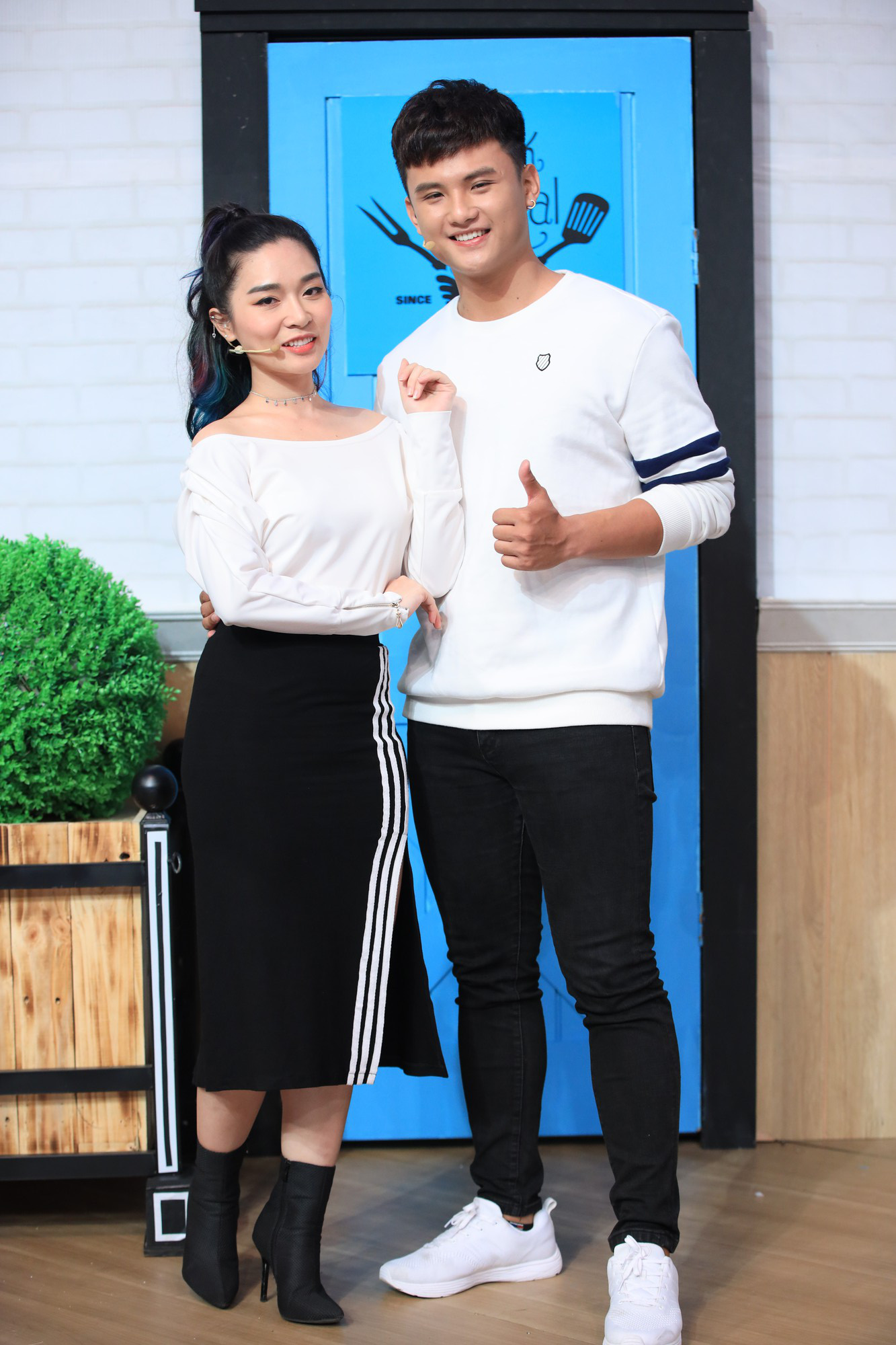 Hậu làm lành, Cao Thiên Trang - Thùy Dương đối đầu nhau trên show nấu ăn - Ảnh 3.