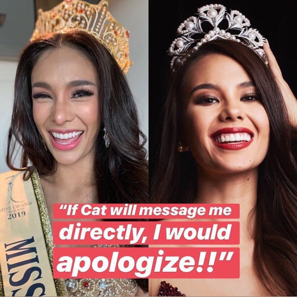 Hoa hậu Hòa bình hay Hoa hậu gây chiến: Công khai hạ bệ nhưngđòi Hoa hậu Hoàn vũ nhắn tin trước mới chịu xin lỗi - Ảnh 2.