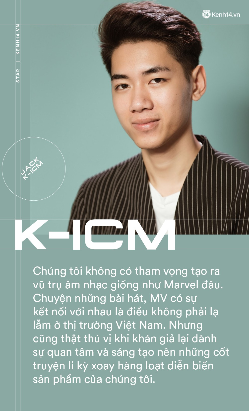 Jack và K-ICM: Chúng tôi và Sơn Tùng M-TP không việc gì phải giẫm đạp lên nhau mà đi - Ảnh 4.