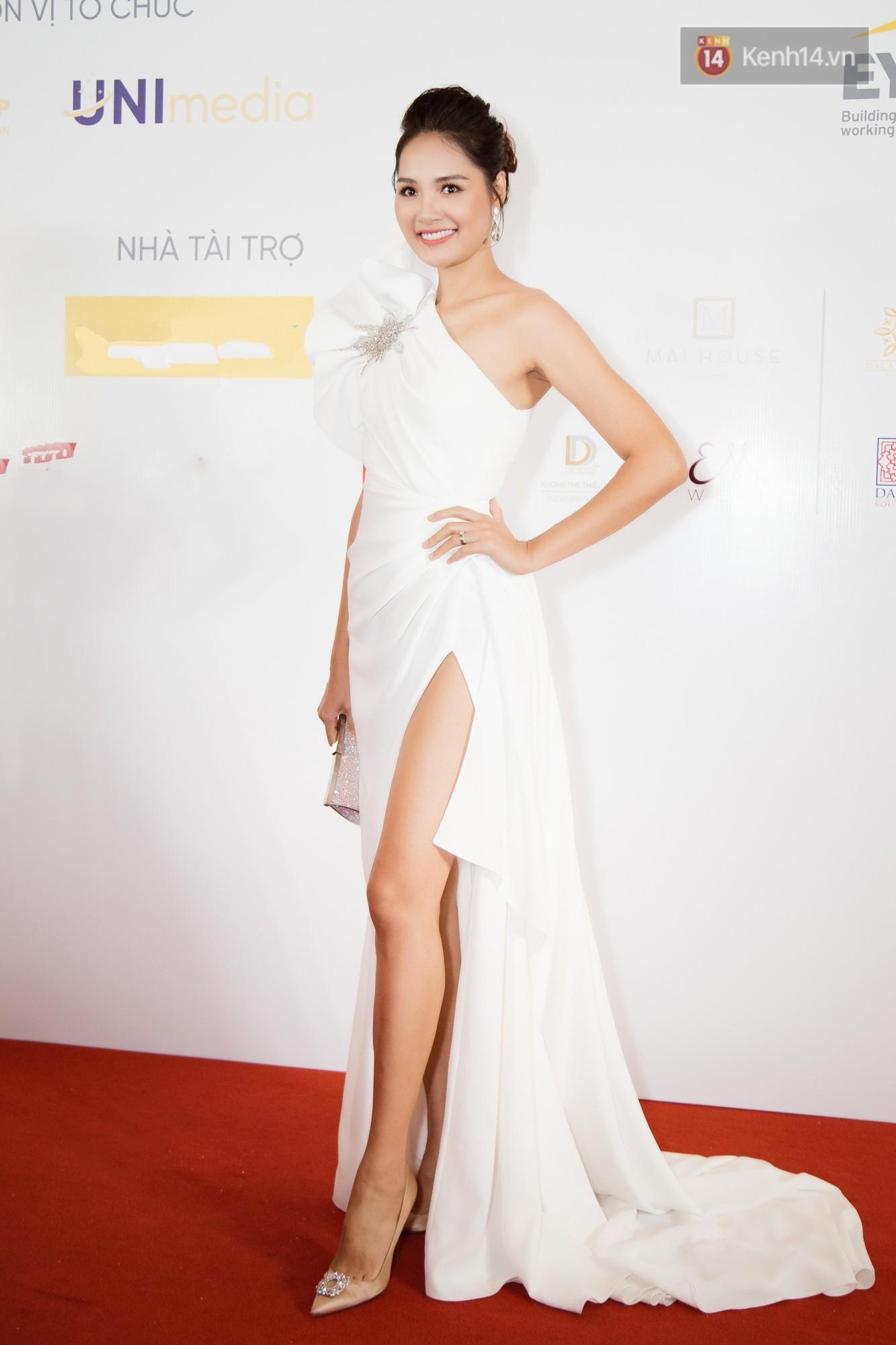 HHen Niê diện style khác lạ, Mâu Thủy hở bạo khoe ngực đầy trong sự kiện khởi động Miss Universe Việt Nam 2019 - Ảnh 9.