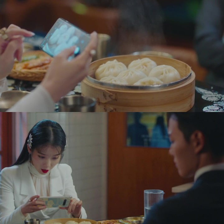 [K-Drama]: With IU review the food in