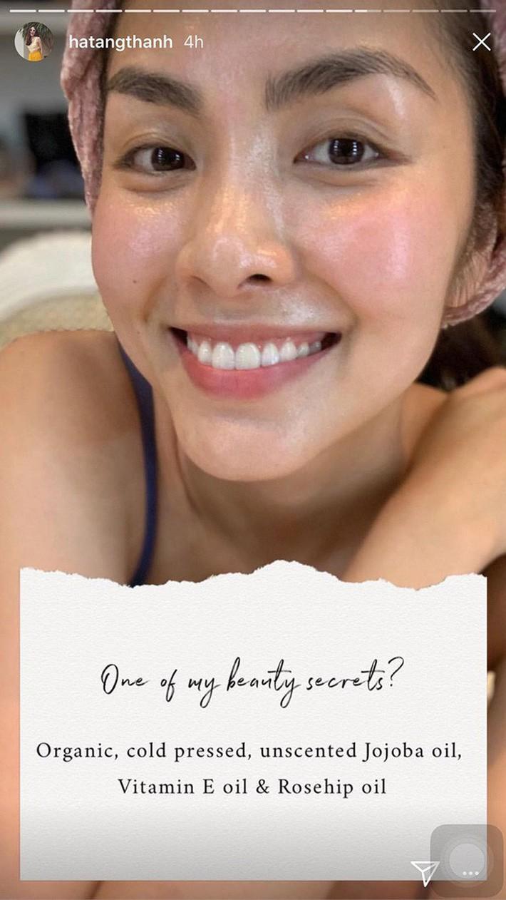 5 bí mật làm nên làn da không tuổi của Hà Tăng: Dùng dầu dưỡng, chọn đúng serum và quan trọng là chế độ ăn - Ảnh 3.