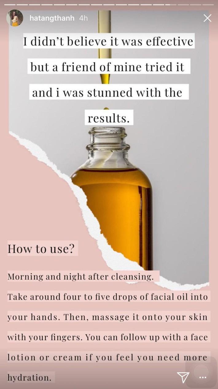 5 bí mật làm nên làn da không tuổi của Hà Tăng: Dùng dầu dưỡng, chọn đúng serum và quan trọng là chế độ ăn - Ảnh 4.