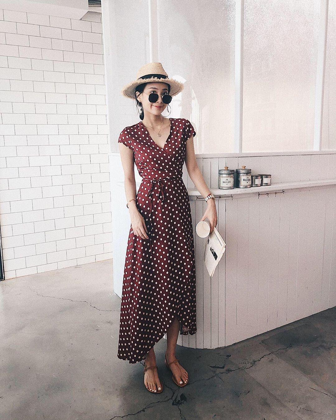 """4 mẫu váy đơn giản nhưng thừa độ sang chảnh, tinh tế giúp style của chị em """"sang trang"""" mới huy hoàng - Ảnh 10."""