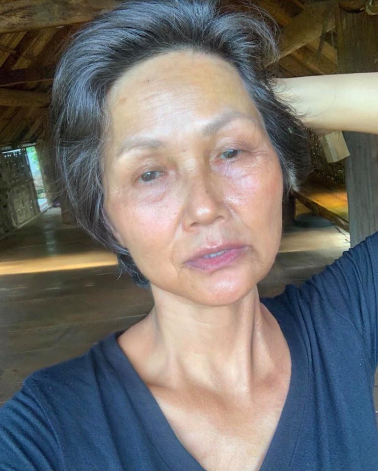 H'Hen Niê, Bích Phương và nhiều sao Việt hào hứng tham gia trào lưu già hóa: Chẳng thể ngờ ai cũng đẹp lão đến lạ! - Ảnh 1.