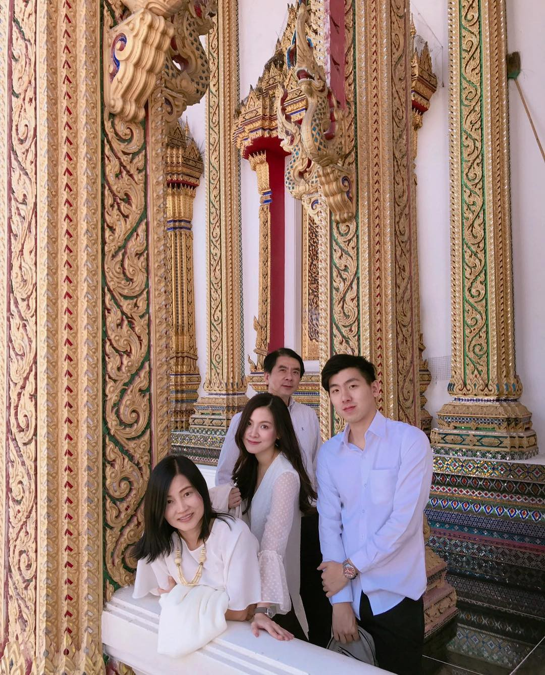 Beautiful Beauty Family Beauty Family Baifern Flying Sheet: The beautiful brother is good but his father is stunned - Photo 1.