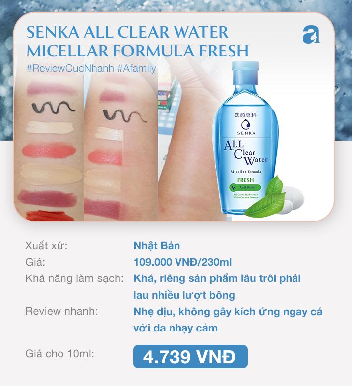 9 lọ nước tẩy trang dưới 350k: Loại đắt xắt ra miếng thì tốt, nhưng đừng vội đánh giá thấp loại rẻ hều - Ảnh 1.