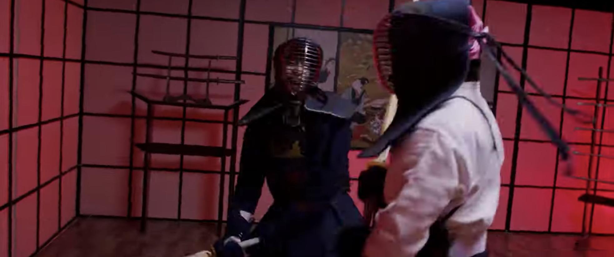 B Trần và Harry Lu lộ clip đấu kiếm kendo đẹp mãn nhãn ở Thật Tuyệt Vời Khi Ở Bên Em - Ảnh 9.