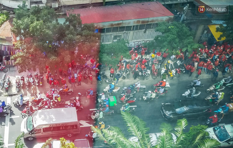 Đại diện Go-Viet lên tiếng khi hàng trăm tài xế ở Sài Gòn tắt app, tập trung đình công phản đối chính sách mới - Ảnh 2.