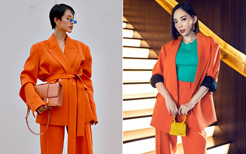 Cùng là 1 trang phục siêu khó nhằn: Tóc Tiên chơi màu cao tay mà Khánh Linh phối đồ cũng chuẩn - Ảnh 5.