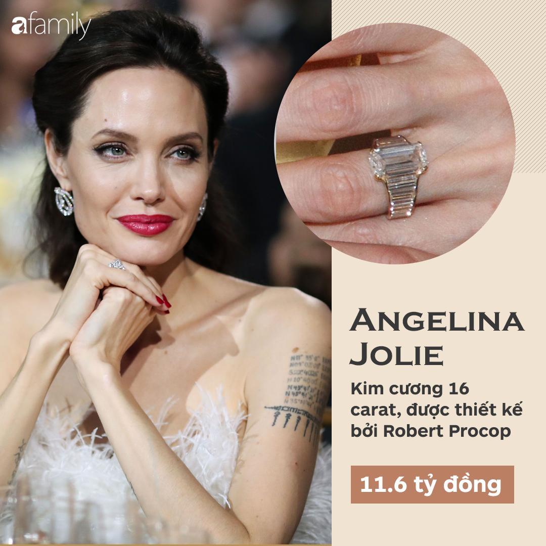 Choáng cực độ với 20 chiếc nhẫn đính hôn đắt bậc nhất hành tinh, bất ngờ là nhẫn của chị em dâu Kate - Meghan - Ảnh 4.