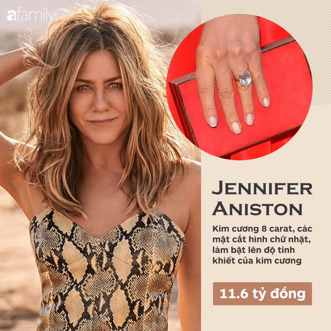 Choáng cực độ với 20 chiếc nhẫn đính hôn đắt bậc nhất hành tinh, bất ngờ là nhẫn của chị em dâu Kate - Meghan - Ảnh 5.