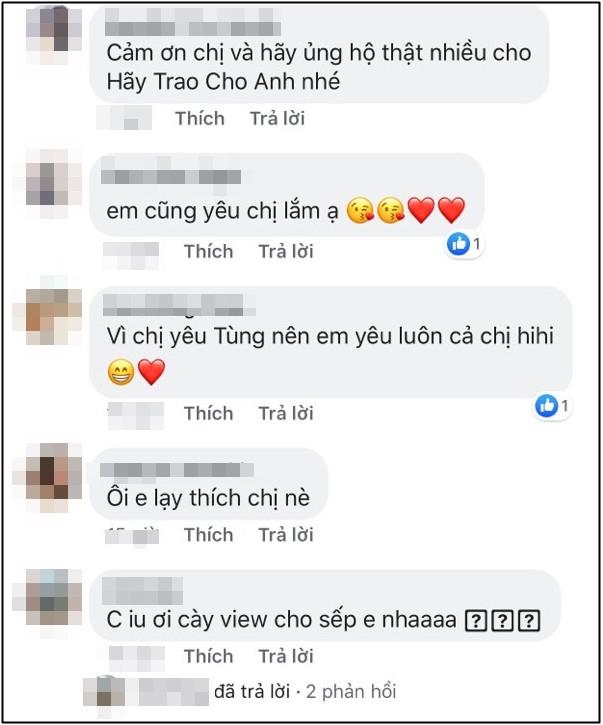 Trời ơi, tin được không? đến Hoa hậu Đặng Thu Thảo, Thu Trang cũng gia nhập hội fangirl của Sơn Tùng M-TP rồi này! - Ảnh 3.
