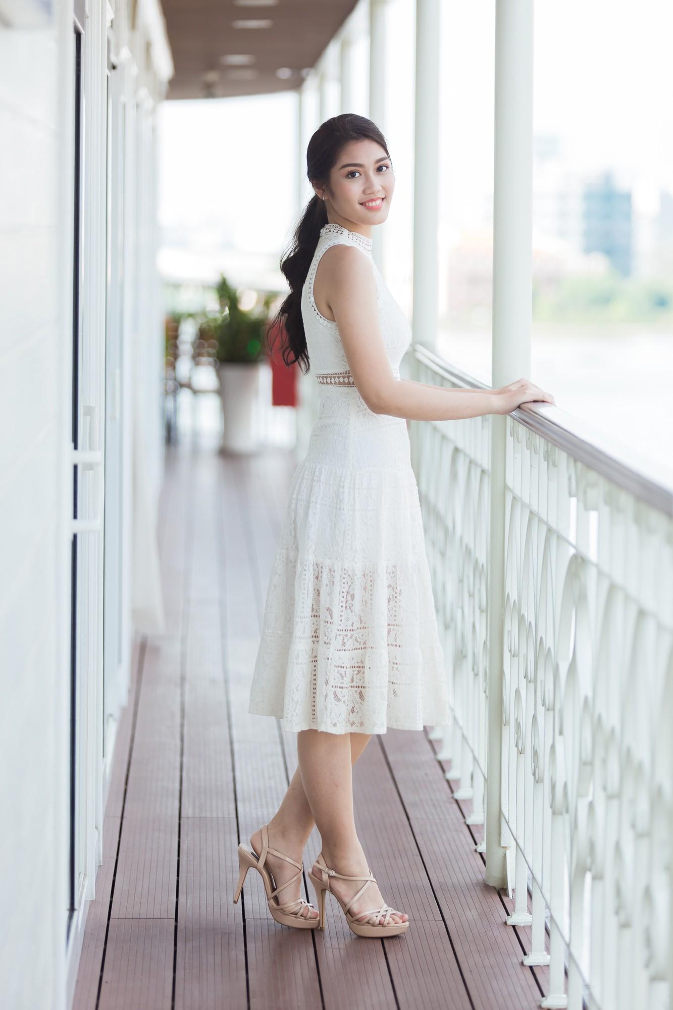 Từ cô Hoa hậu bị hoài nghi, Tiểu Vy hôm nay đứng trước Top thí sinh Miss World đầy bản lĩnh và thần thái - Ảnh 11.
