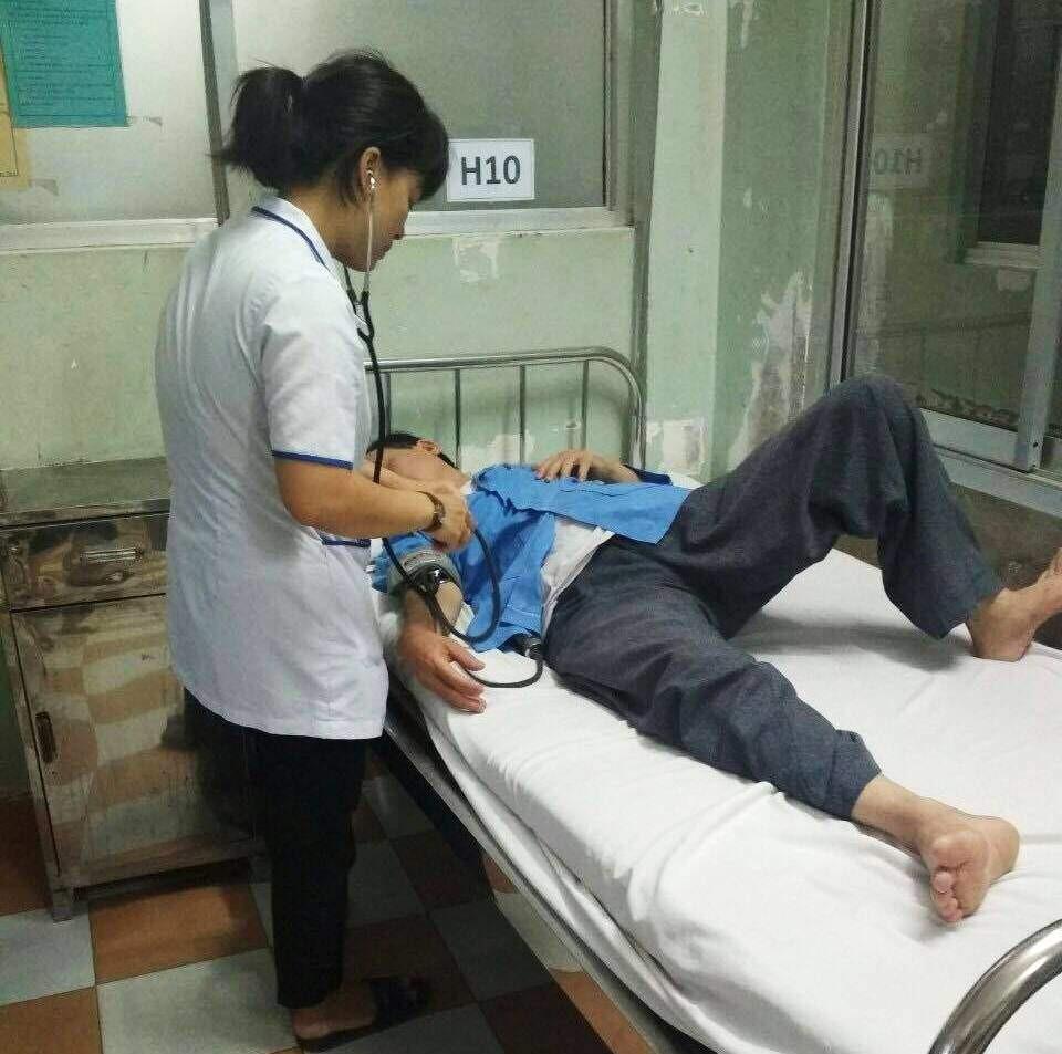 Điều dưỡng ở Bình Định tố bị phó khoa đánh đến nhập viện - Ảnh 1.