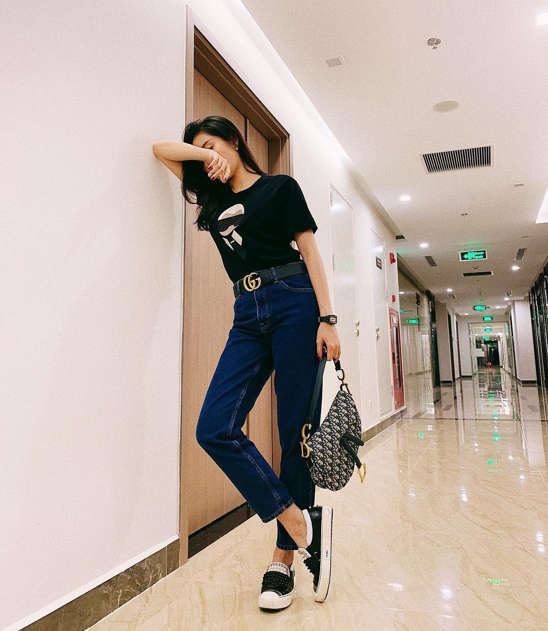 Thêm một tấm gương mặc đẹp cho các chị em: Á hậu Huyền My với style đơn giản nhưng cực sang - xịn - mịn - Ảnh 1.