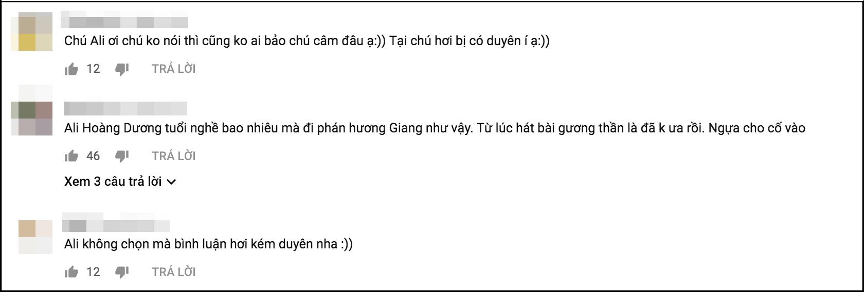 Ali Hoàng Dương bị phản ứng khi vô tư nhận xét Hương Giang và Phạm Quỳnh Anh hát không bằng thí sinh nhí trên sóng truyền hình - Ảnh 2.