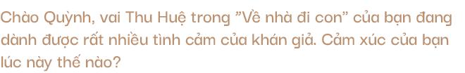 """Thu Quỳnh lần đầu nói về chuyện bị phản bội: Nhìn Thư của những tập phim vừa qua, tôi nghĩ: """"Ô, thì ra mình đã từng đau khổ như này, mình đã mạnh mẽ vượt qua như thế ư? - Ảnh 3."""