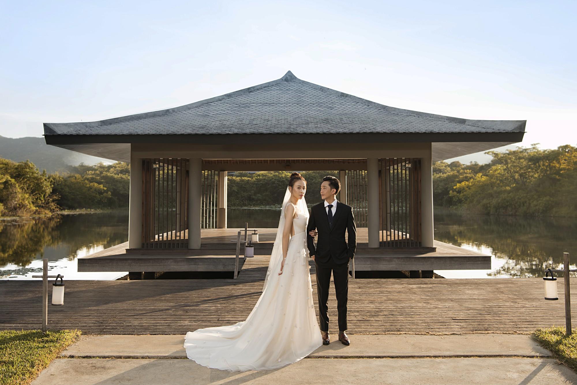 Hé lộ thêm ảnh cưới của Đàm Thu Trang và Cường Đô La trước ngày trọng đại: Quá ngọt, cô dâu thay tới 8 trang phục khác nhau - Ảnh 8.