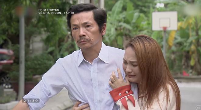 """Review tập 70: Cảnh bố Sơn sang nhà chồng Thư nghẹn ngào nói """"Về nhà đi con"""" lấy đi biết bao nước mắt khán giả - Ảnh 12."""