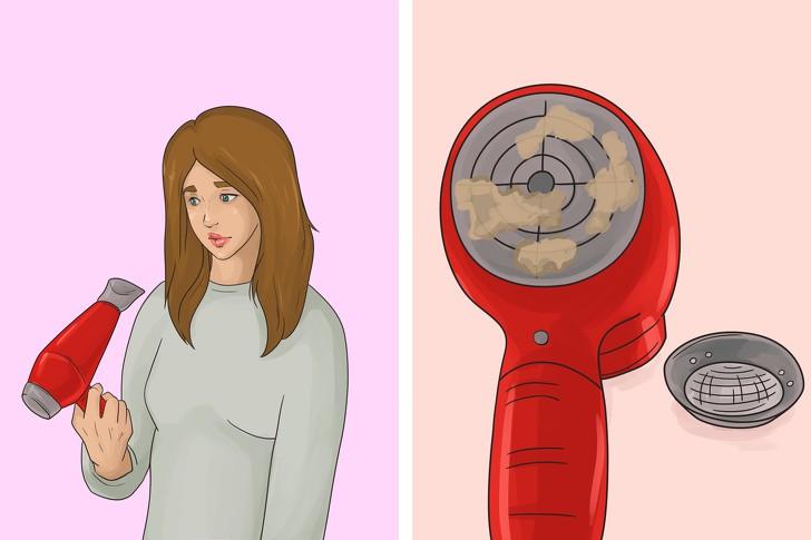 12 lỗi sai điển hình khi dùng máy sấy ảnh hưởng nghiêm trọng tới mái tóc, khiến tóc ngày càng khô rối, hư tổn - Ảnh 10.