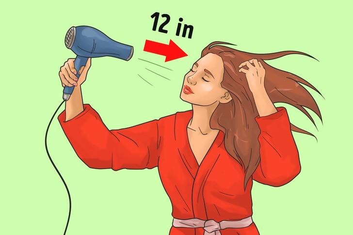 12 lỗi sai điển hình khi dùng máy sấy ảnh hưởng nghiêm trọng tới mái tóc, khiến tóc ngày càng khô rối, hư tổn - Ảnh 5.